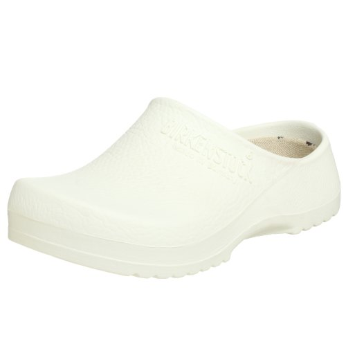 Birki Unisex Super Birki Clog,White,40 M EU (9 M US Women's/7 M US Men's)