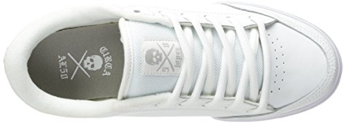 C1RCA Men's AL50 Skate Shoe, White/Gray, 11 M US