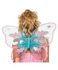 Garden Pixie Patchwork Wings Adult Costume Accessory - (Leg Avenue Garden)