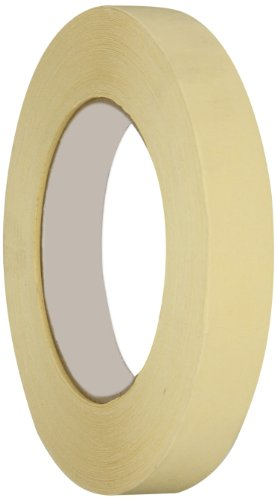 Intertape Polymer Group PG5 Crepe Paper All Purpose Medium Grade Masking Tape, 25 lbs/inch Tensile Strength, 54.8m Length x 72mm Width, Natural, Case of 16 ()