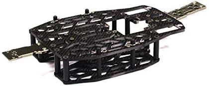 Integy RC Model Hop-ups T3502 Carbon Fiber Chassis Conversion Set for Traxxas 1/16 E-Revo VXL
