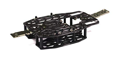 Integy RC Model Hop-ups T3484 Carbon Fiber Chassis Conversion Set for 1/16 Traxxas Slash VXL