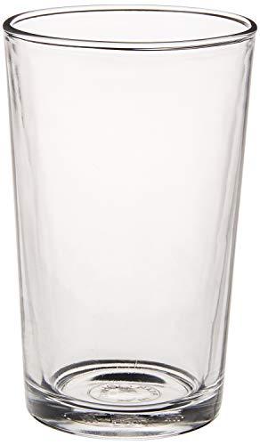 Duralex Made In France Unie Glass Tumbler (Set of 6) 7 oz, Clear (Glass Tumblers)