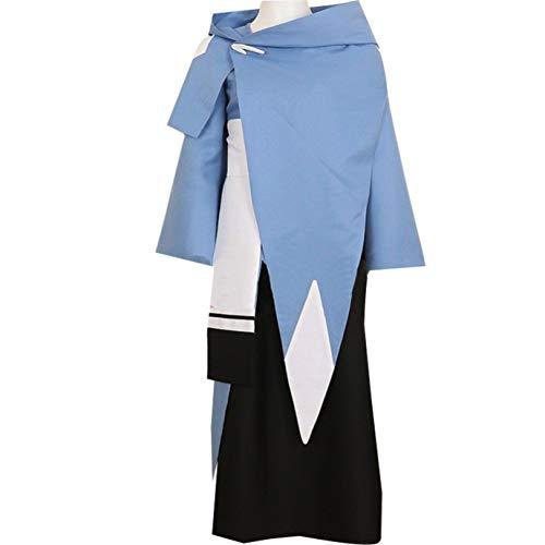 GZCOS Anime Sypha Belnades Cosplay Costume Blue Kimono Halloween (S)]()