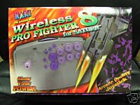 Naki Wireless 8 Pro Fighter Sega Saturn Controller