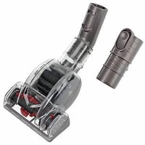 Kit de accesorios con cepillo de SPARES2GO para limpiar la tapicería, apto para los modelos principales de aspiradora Dyson Mini Turbo Turbine Brush Head: ...