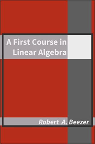 A First Course in Linear Algebra, Version 3.50