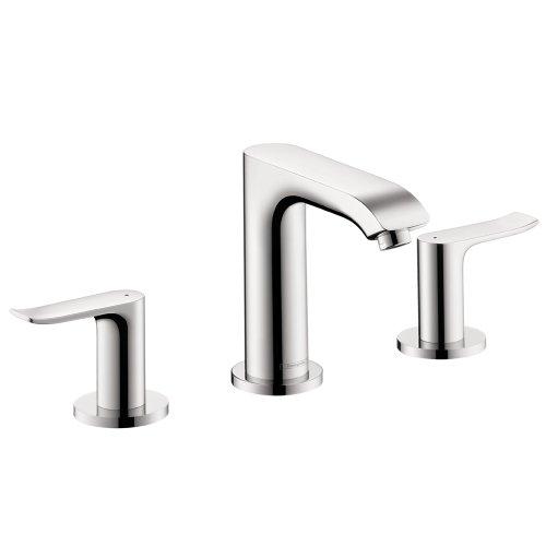 Hansgrohe 31083001 Metris 100 Widespread Faucet, Chrome - Bathroom ...