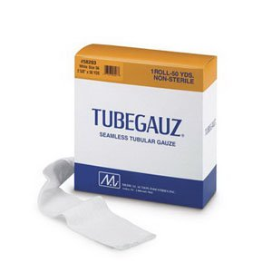 Tube Gauze (Arms, Lower Legs, Small Thighs, White 2 5/8'' 50 YDS)