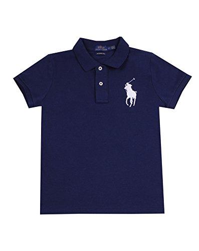 Polo Ralph Lauren Womens Big Pony Polo (X-Large, Navy white - Ralph Ladies Lauren