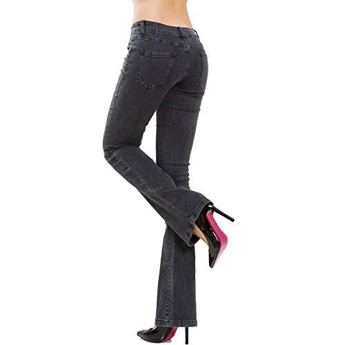 Femme Fonc Gris Skinny Jeans Toocool zwq8RR