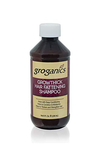 - Groganics Grow Thick Hair Fattening Shampoo, 8 Ounce (Pack of 4)