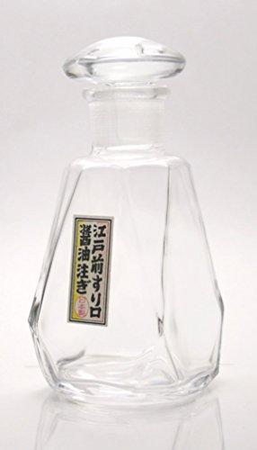 Iwasawa poured glass Edo-style sliding Shoyu large WA-417