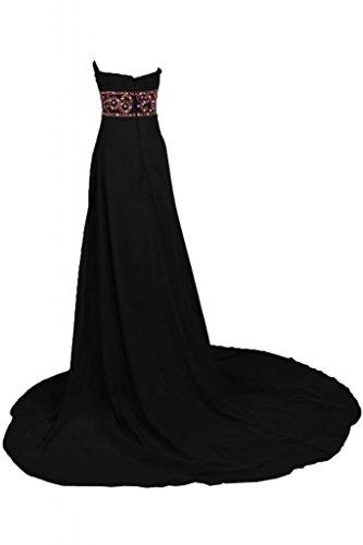 per donna Vestito sera da Black da da Sweetheart Sunvary sera Maxi lungo Pageant Charming abiti 8ngxFqz