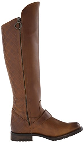 Justin Boots Womens 17 Pollici Fashion Riding Boot Suntan Pull / Up
