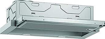 Neff Campana extractora empotrable D46ED22X1 N50, 60 cm, salida de aire o recirculación, clase de eficiencia energética A, color plateado metálico