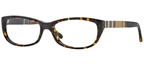 Burberry Women's BE2167 Eyeglasses Dark Havana 52mm by BURBERRY