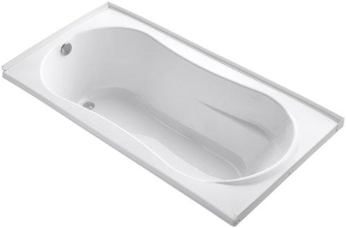 (KOHLER K-1159-L-0 7236 Bath, White)