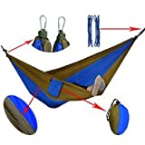 outdoor furniture Camping garden swing travel Double Person Portable Parachute