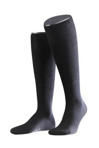 2 Paar FALKE Support Strong Socken, Stützstrümpfe (45-46, schwarz)