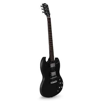 Chord Stage78 Guitarra eléctrica 6 cuerdas negra: Amazon.es: Juguetes y juegos