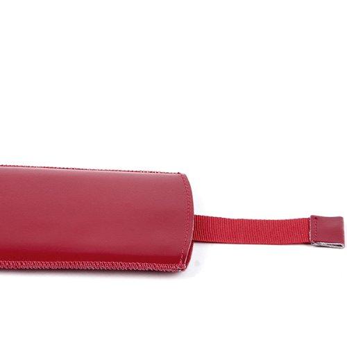 NFE² Echtleder Etui rot mit Ausziehlasche für Apple iPhone 6
