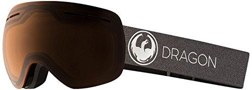 Dragon Alliance X1s Ski Goggles, Black, Medium, Echo/Transitions Amber Lens