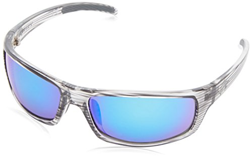 Anarchy Men's Skeptical Polarized Wrap Sunglasses,Demi Black,62.5 - And Hers Sunglasses His