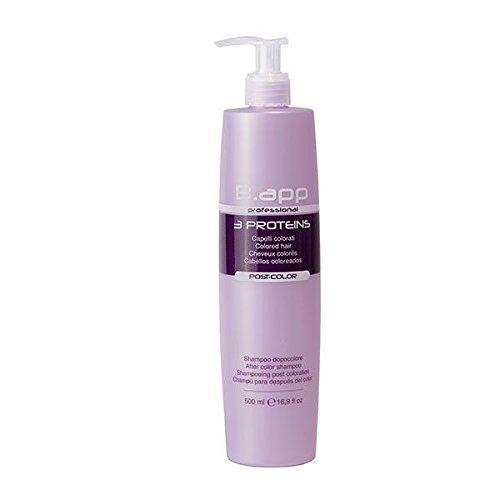 B.APP Professional Shampoo fü r coloriertes Haar mit Keratin, Kollagen und Elastin 500 ml