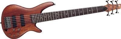 Ibanez SR506BM 6-String Electric Bass, Brown Mahogany