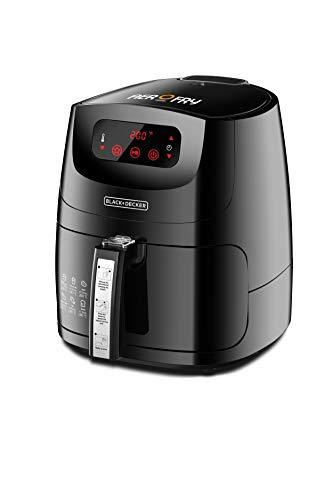 Black+Decker 5 Liter 1.2kg 12-in-1 Multifunction Digital XL Air Fryer AerOfry, Black - AF600-B5, 2 Years Warranty