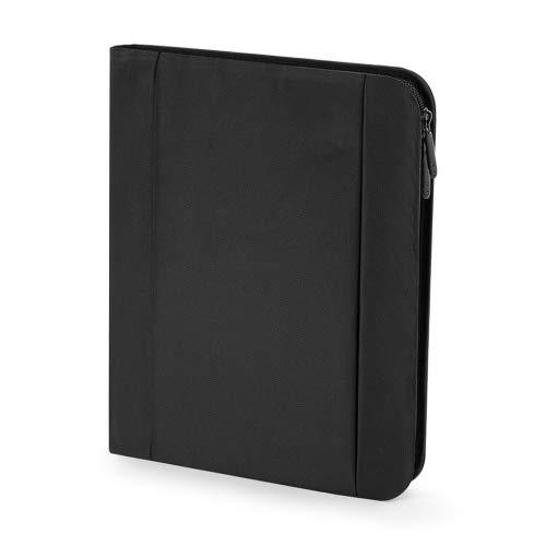 A4-Block Reißverschluss Organizer Neu Quadra Eclipse Tablet Document Folio inkl