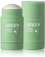 YIPUTONG Diep reinigend masker, Comedondrukker Masker Groene thee Zuiverende klei Stick-masker Oil Control Solid Mask Hydraterende masker, Facial Pore Minimizer
