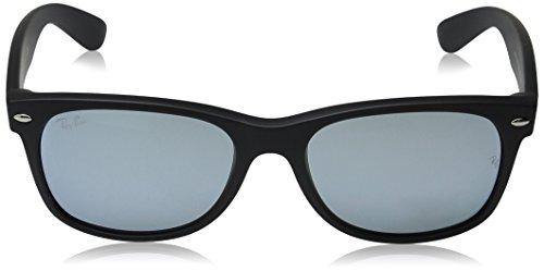 Ray-Ban-New-Wayfarer-Sunglasses-Rubber-Black-55-mm