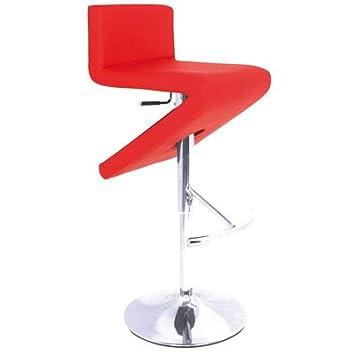 ILINEO - Tabouret Bar Haut - Chaise Haute Design - Assise en ...
