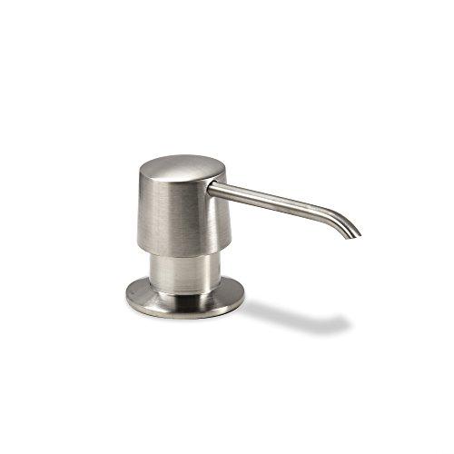 Solid Brass Kitchen Soap (Decor Star SD-004-TB Kitchen Bathroom Sink Deck Mount Soap or Lotion Pump Dispenser Brushed Nickel)