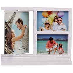 Freestanding White 3-in-1 Multi Picture Collage Frame - Dis