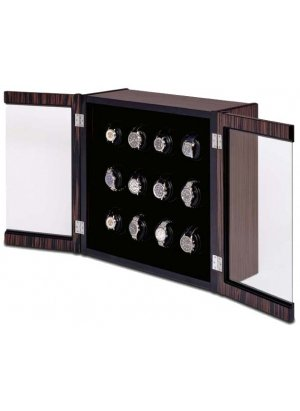 The Avanti 12 Wall Mounted - Watch Winder for Twelve Watches By (Orbita Avanti Watch Winder)