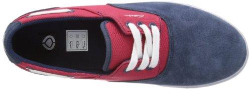C1RCA Men Twill Valeo Sneaker Blue Red qqPxwSr
