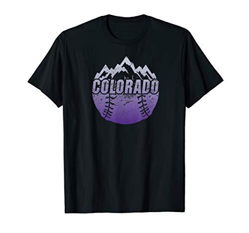 Colorado Baseball Rocky Mountains Design - Classic Colorado Rockies Shirt