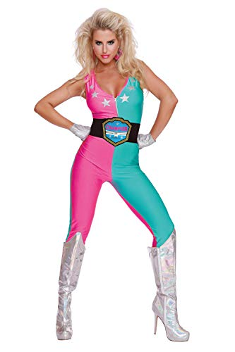 Dreamgirl Women's Wrestling Champ, Costume, ()