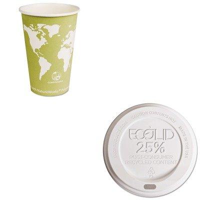 KITECOEPBHC16WAECOEPHL16WR - Value Kit - ECO-PRODUCTS,INC. World Art Hot Cups (ECOEPBHC16WA) and ECO-PRODUCTS,INC. Eco-Lid 25% Recycled Content Hot Cup Lid (ECOEPHL16WR) by Eco-Products, Inc