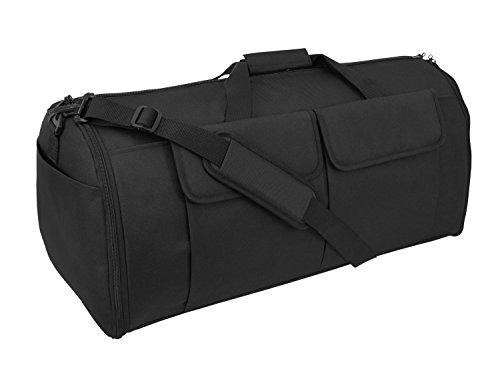 Mercury Tactical Gear Code Alpha Hybrid Garment Duffel Bag, Basic, Black from Mercury Tactical Gear