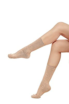 6 Pair Women's Solid Cotton Winter Ankle Dress Socks