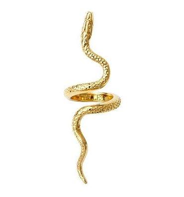 630699df3d6 HELLES PARIS Bague Serpent XL - Or  Amazon.fr  Bijoux