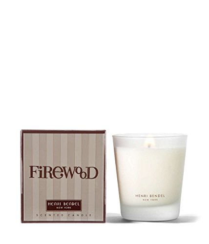 Henri Bendel Firewood Scented Glass Jar Candle 9.4 oz