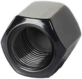 Onior 20PCSシリコンカーホイールハブスクリューカバーユニバーサルタイヤスクリューキャップダストキャップ(ブラック、17mm)