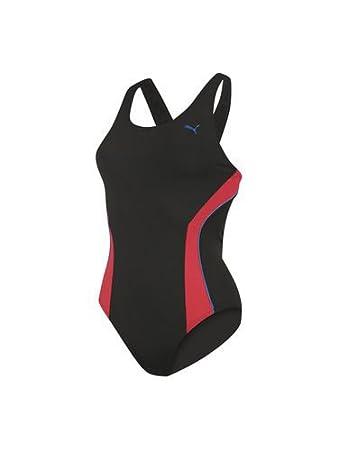 Puma Hydrocat Basic Womens Swimming Costume Black Black Sizexs