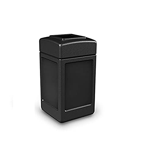 commercial zone 42 gal square commercial trash can