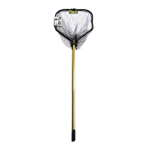 StowMaster TS84S Tournament Series Precision Landing Net, Gold/Black - Stowmaster Tournament Series